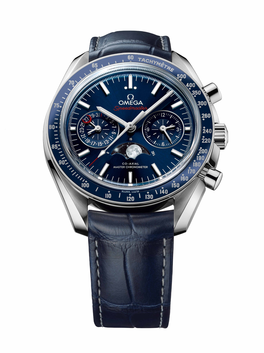 Chronos nimmt die Omega Speedmaster Moonwatch Co-Axial Master Chronometer Moonphase unter die Lupe