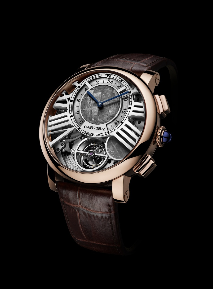Cartier: Rotonde de Cartier Uhren Online Kaufen Replik uhr Earth and Moon