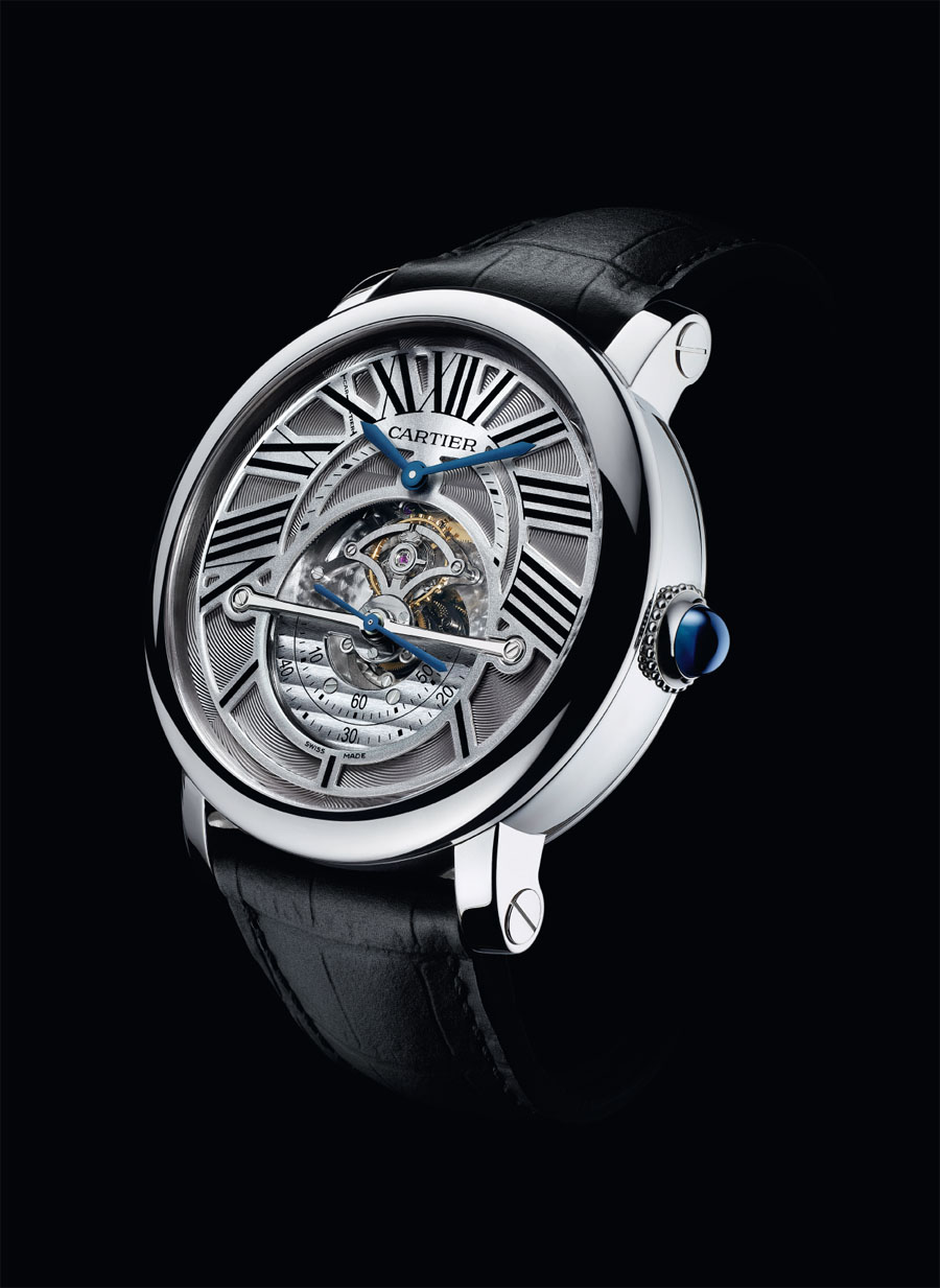 Cartier: Rotonde Astrorégulateur, 2011