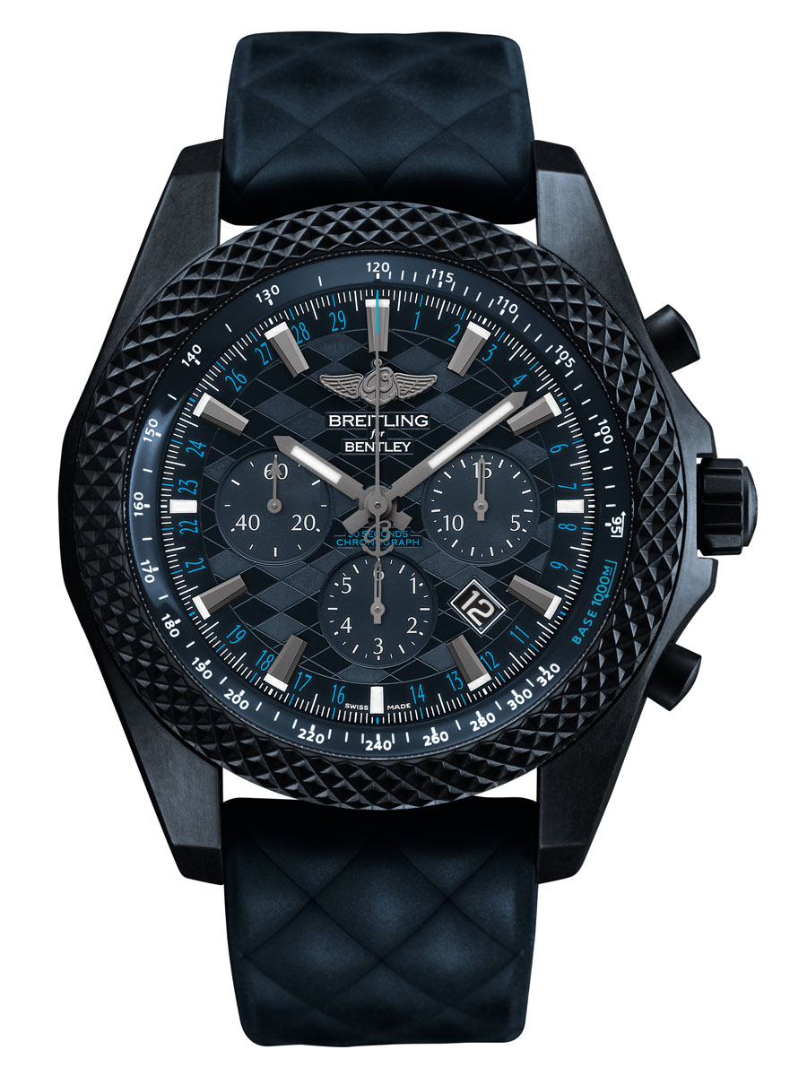 "Breitling for Bentley: Bentley GT ""Dark Sapphire"" Edition"